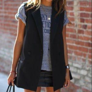 H&M sleeveless blazer